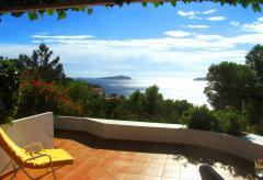 Strandnahes Ferienhaus mit Meerblick - Cala San Vicente (Nr. 0153)