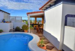 Ferienhaus mit Pool und Meerblick in La Pared (Nr. 0970)
