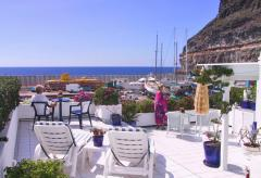 Gran Canaria Ferienwohnung direkt am Hafen von Puerto Mogan (Nr. 0902.1)