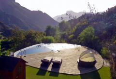 Kanarisches Ferienhaus mit beheiztem Pool bei Tejeda (Nr. 0905)