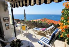 Ferienwohnung am Meer mit tollem Meerblick und Pool (Nr. 0912)