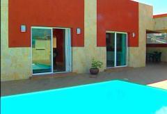 Ferienhaus mit Pool und Blick auf die Dünen von Maspalomas (Nr. 0914)