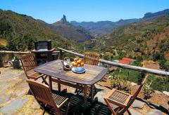 Wandern auf Gran Canaria - Ferienhaus mit Internetanschluss (Nr. 0934)