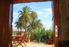 Urlaub unter Palmen - kanarisches Ferienhaus  (Nr. 0942)