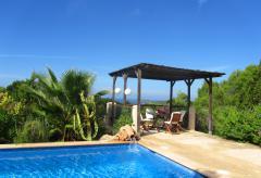 Ibiza, Ferienhaus mit Pool in Meernähe - Cala Tarida (Nr. 0005)