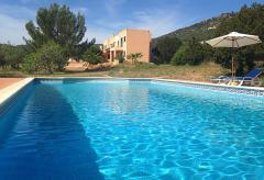 Villa mit Pool bei Es Cubells (Nr. 0010)