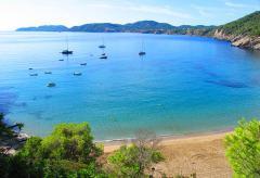 Ferienhaus mit Meerblick auf die Bucht Cala Vicente  (Nr. 0107)