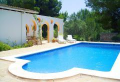 Ibiza Urlaub im Ferienhaus für Familien mit Pool     (Nr. 0194)