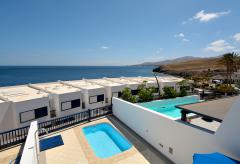 Ferienhaus mit Pool direkt am Meer - Puerto Calero (Nr. 0840)