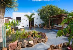 Garten-Apartment in Guatiza auf Lanzarote (Nr. 8500)