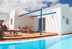 Lanzarote Ferienhaus mit Pool und Meerblick (Nr. 0861)