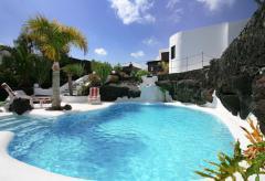 Villa mit Pool auf Lanzarote (Nr. 0862)
