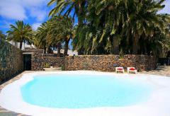 Ferienhaus mit Pool und Internet gratis - Lanzarote Nord (Nr. 0872)