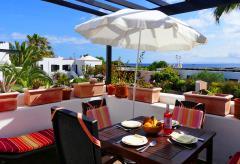 Strandnahe Ferienwohnung mit Meerblick - Puerto del Carmen (Nr. 0876.1)