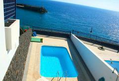 Ferienhaus mit Pool und Meerblick (Nr. 0877)