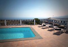 Ferienhaus mit Pool und Meerblick (Nr. 0879)