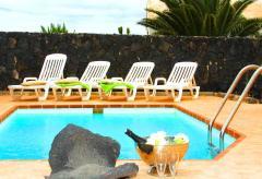 Ferienhaus mit Pool im Süden von Lanzarote (Nr. 0879)