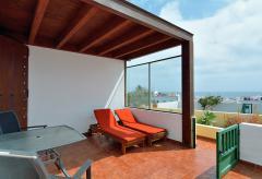 Strandnahe Ferienwohnung mit Meerblick - Punta Mujeres (Nr. 0882)