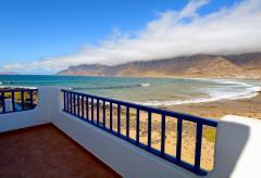 Strandurlaub Lanzarote - Ferienhaus Playa de Famara (Nr. 0884)