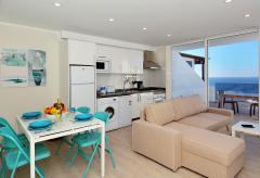 Apartment mit Meerblick, Klimaanlage und Pool (Nr. 0893)