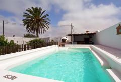 Kanarische Finca mit Pool  (Nr. 0895)