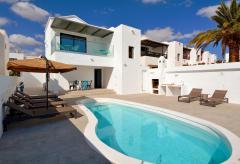 Strandurlaub im Ferienhaus mit Pool (beheizbar) - Puerto del Carmen (Nr. 0898)