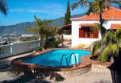 Zwei Ferienhäuser mit Pool  an der sonnigen Westküste von La Palma (Nr. 0834.3)