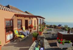 La Palma komfortables Ferienhaus mit Meerblick (Nr. 8810)