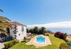 La Palma Landhaus mit Pool und Meerblick (Nr. 8811)