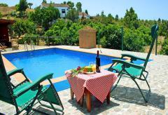 La Palma ländliches Ferienhaus mit Pool (Nr. 8836)
