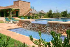 Große Finca mit Pool und Klimaanlage bei Campos  (Nr. 0203)