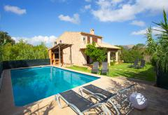 Fincaurlaub Mallorca - Strandnahe Finca mit Pool und Klimaanlage (Nr. 0207)