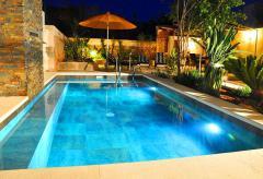 Ferienhaus mit Pool - exklusives Stadthaus Santanyi (Nr. 0217)