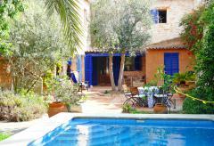 Stadthaus mit Pool und Garten in Santanyi (Nr. 0223)