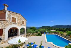 Ferienhaus mit Pool auf dem Land - Campanet (Nr. 0224)