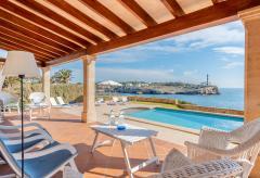 Ferienhaus mit Pool am Meer - Portocolom (Nr. 0226)