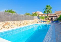 Ferienhaus in Santanyi mit Pool und Klimaanlage (Nr. 0257)