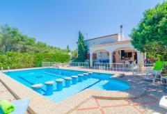 Strandnahes Ferienhaus mit Pool und Klimaanlage - Sa Ràpita (Nr. 0264)
