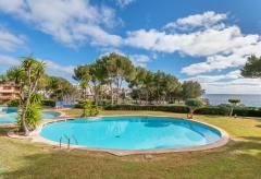 Strandnahe Ferienwohnung mit Garten, Terrasse und Pool (Nr. 0266)