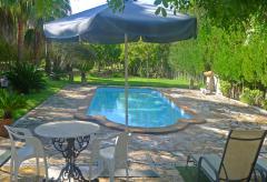 Kleines Ferienhaus für 2 Personen mit Pool (Nr. 0273)