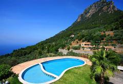 Ferienhaus mit Pool und tollem Meerblick- Valldemossa (Nr. 0284)