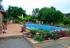 Ferienhaus mit Pool und Blick auf das Tramuntanagebirge  (Nr. 0296)
