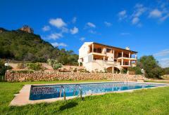 Großes Ferienhaus mit Pool und Meerblick bei Cala Millor (0298)