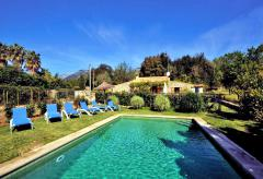 Finca mit Pool (kindersicher) und Garten bei Campanet (Nr. 3006)