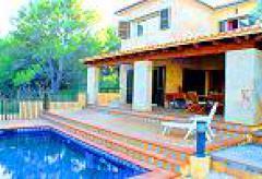 Strandnahe Villa mit Pool an der Cala Mesquida (Nr. 3010)