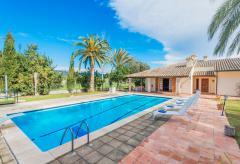 Finca mit Pool und Klimaanlage bei Binissalem  (Nr. 3019)