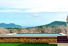 Große Finca mit Pool, Klimaanlage und Meerblick (Nr. 3020)