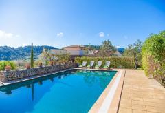 Moderne Finca mit Pool und Klimaanlage in Alleinlage bei Caimari (Nr. 3023)