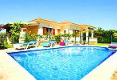 Ferienhaus an der Playa de Muro mit Pool (Nr. 3029)