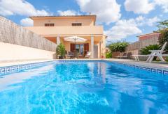 Ferienhaus mit Pool - Porreres (Nr. 3032)